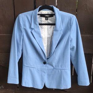 Kensie Blazer Small Blue Women's Jacket